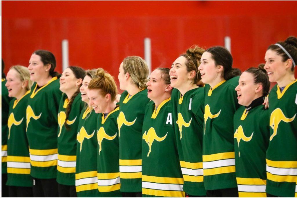 The Mighty Jills. Image: Ice Hockey Australia