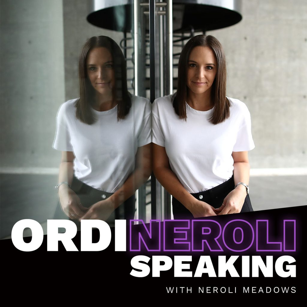 Ordineroli Speaking. Women in sport podcasts.