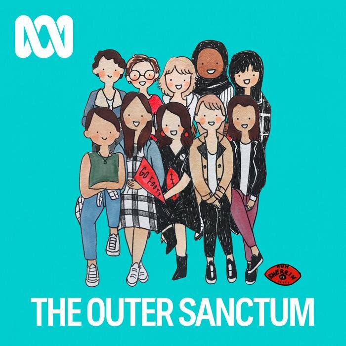 The Outer Sanctum. Women in sport podcasts.