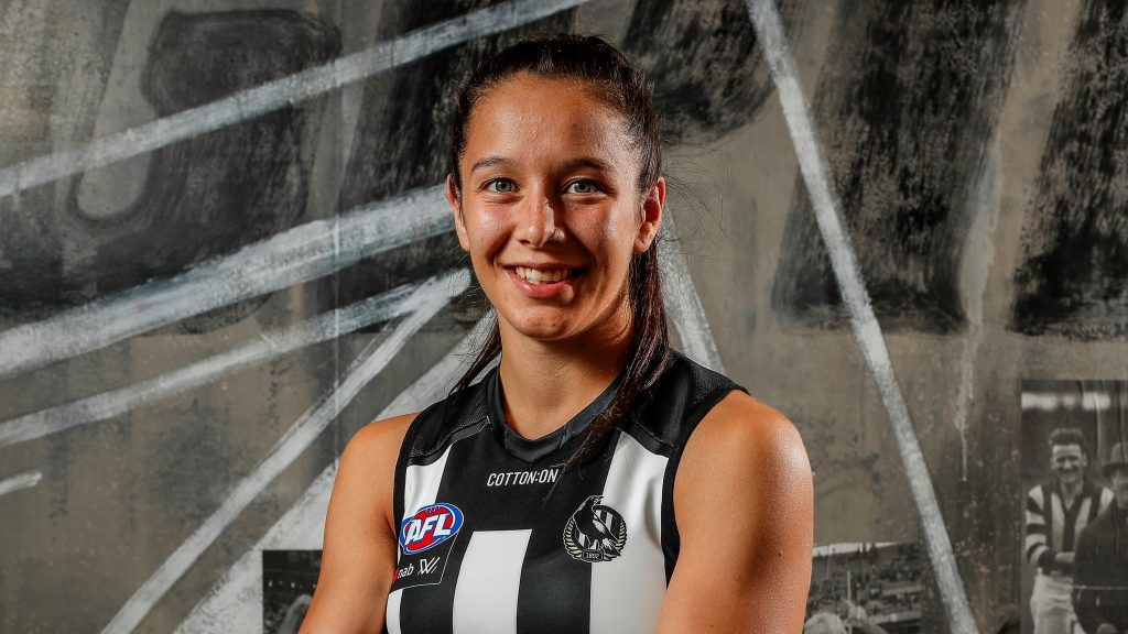 Brittany Bonnici. Underrated. Image: Collingwood Magpies