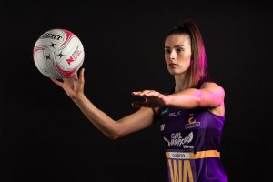 Macy Gardner. Image: Queensland Firebirds