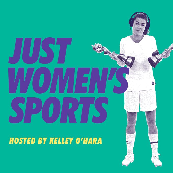 Just Women's Sports hosted by Kelley O'Hara. Image: Just Women's Sports