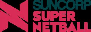 Suncorp Super Netball logo.