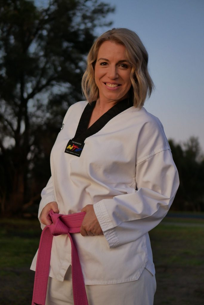 Kristy Hitchens started The Pink Belt Project after seeing her friend experience hardship. Image: Provided