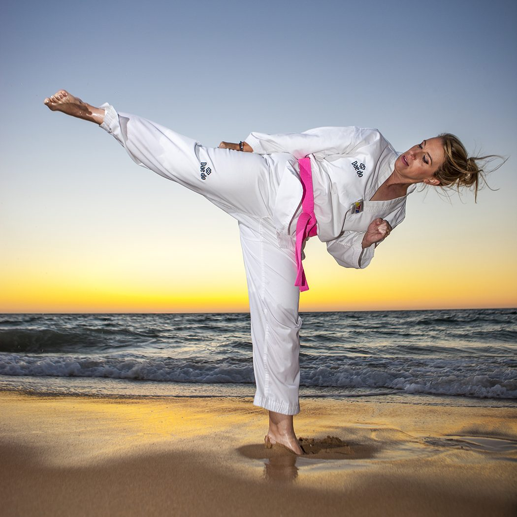 Kristy Hitchens founded The Pink Belt Project in 2018. Image: Provided