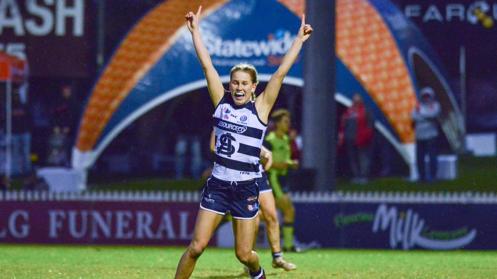 Teah Charlton is one of the top prospects ahead of the 2020 AFLW draft. Image: SANFLW