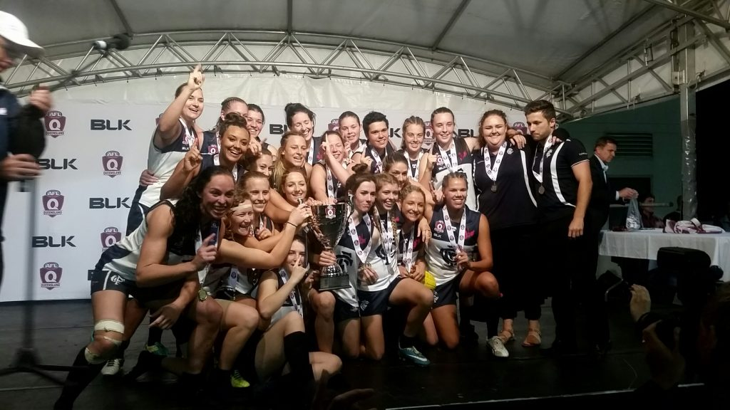 2016 QWAFL Premiers Coorparoo. Supplied: Murray Bird
