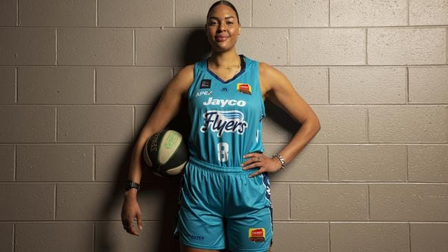 Liz Cambage is a boom signing for the Southside Flyers ahead of this season. Image: Southside Flyers WNBL Season Preview