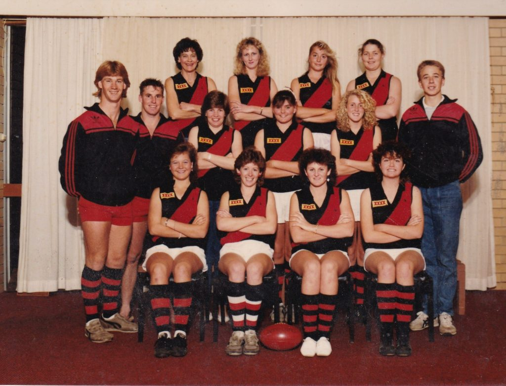 1985 South Brisbane team photo