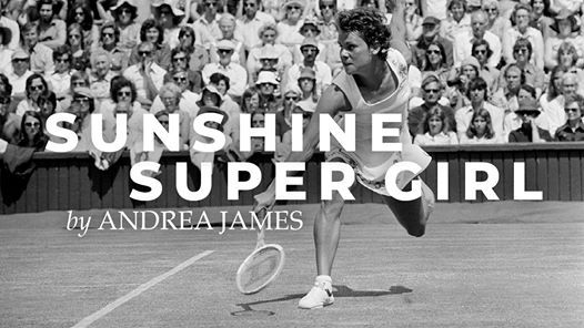 Sunshine Super Girl is a new play by Andrea James documenting the life of Evonne Goolagong Cawley. Supplied: Sunshine Super Girl