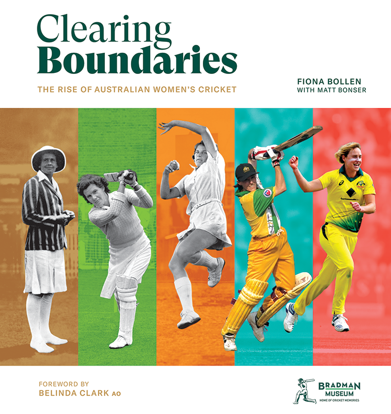 Clearing Boundaries book cover.