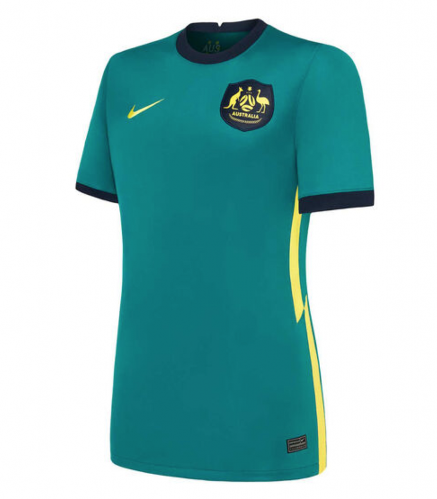 The Matildas new away kit.