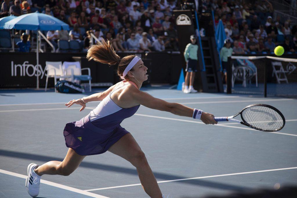 Karolína Muchova at the 2020 Australian Open. Image: Megan Brewer. tennis coaches