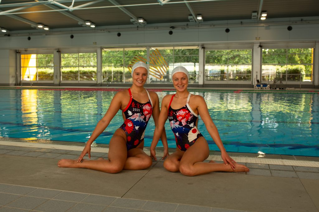 Amie Thompson Artistic Swimming Image: Canberraphoto / Anastasia Kachalkova