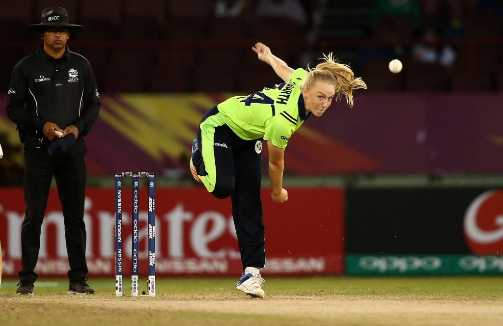 Kim Garth received news of her two year contract with Cricket Victoria not long before lockdowns began in 2020. Sourced: Cricket Australia