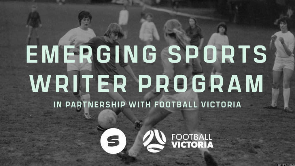 In partnership with Football Victoria, we're excited to have three participants in the next round of Siren's Emerging Sports Writer Program.