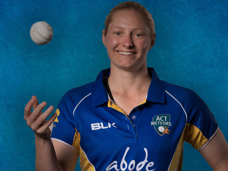 Zoe Cooke is an important cog in the ACT Meteor machine. Sourced: Cricket ACT
