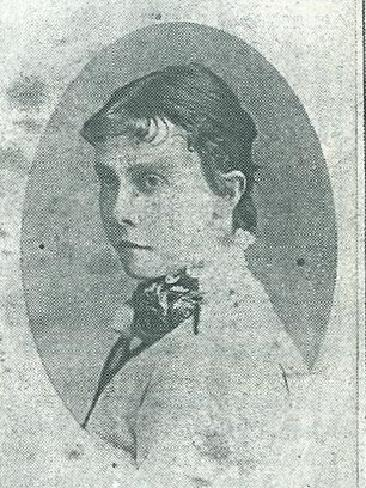 Lily Poulett-Harris played in the first recorded game of women's cricket Tasmania.