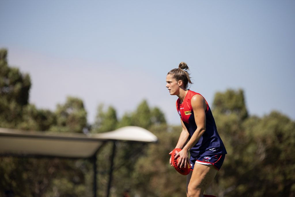 Lauren Pearce was back to her best in 2021 after an injury-impacted 2020. Image: Megan Brewer