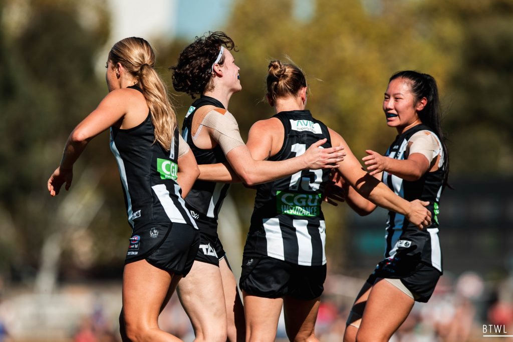 Collingwood has retained the bulk of their list. AFLW 2021 Trade Wrap Image: Rachel Bach / By The White Line