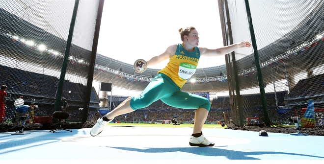 Tokyo 2021 will be Dani Stevens' fourth Olympic Games. Sourced: Athletics Australia
