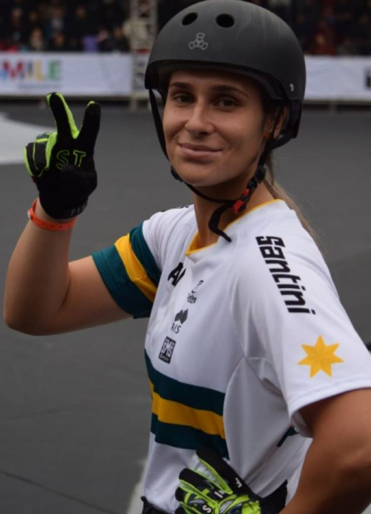 Natalya has pushed through a number of injuries to qualify. Provided: AusCycling