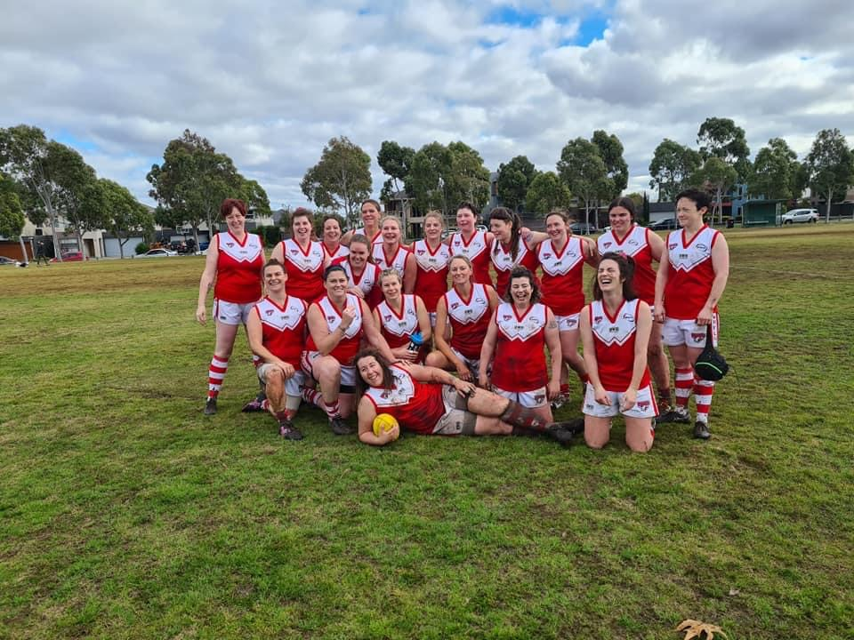 Community footy teams become family. Image: Supplied