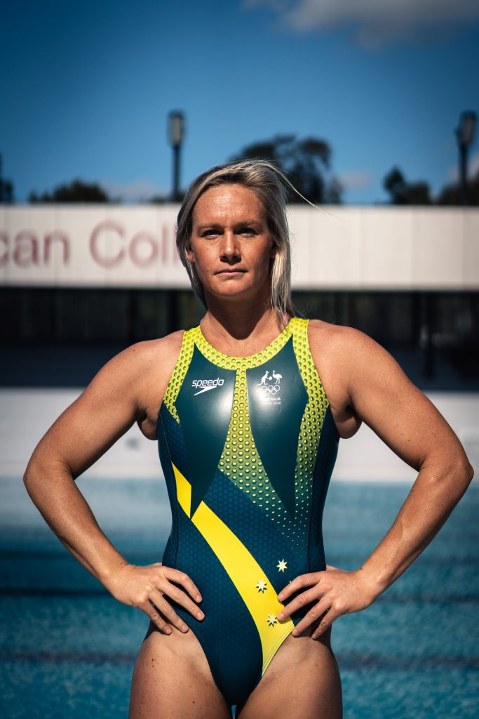 Rowie Webster debuted at the 2012 London Olympic Games. Image: supplied