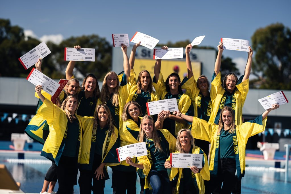 The Stingers are off to compete in Tokyo. Image: supplied