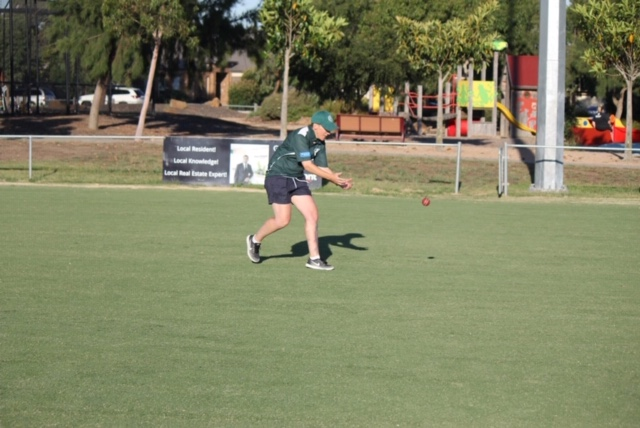 Kirsty is back playing community cricket now, but she knows just how important it is to make community sport inclusive. Image: supplied.