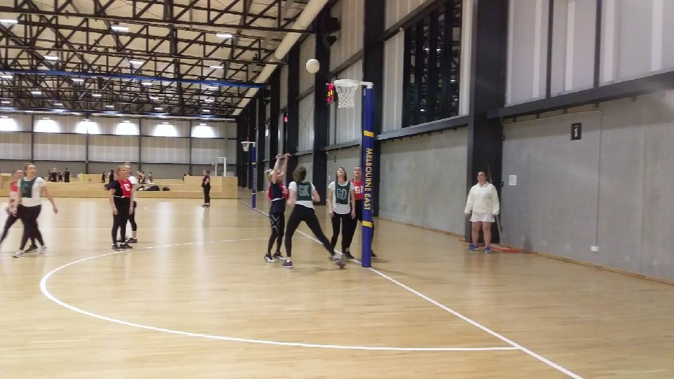 MENA offers two rock up sessions on a Monday and one Monday night competition. Image: Melbourne East Netball Association (MENA)