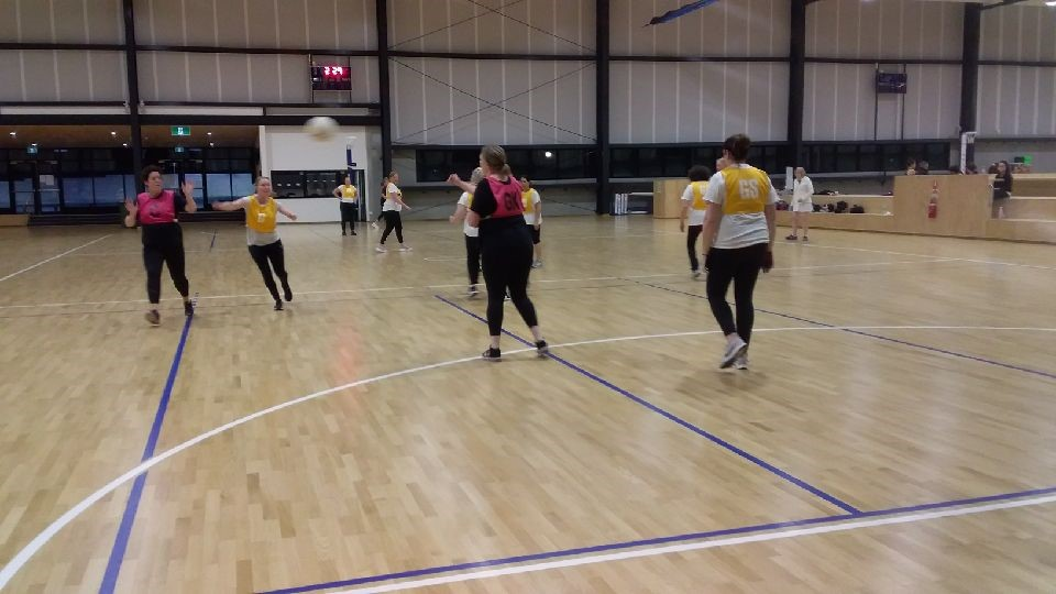 MENA added walking netball to their roster in 2020. Image: Melbourne East Netball Association (MENA)