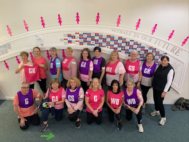 Walking netball had been on MENA's to do list for some time. Image: Melbourne East Netball Association (MENA)