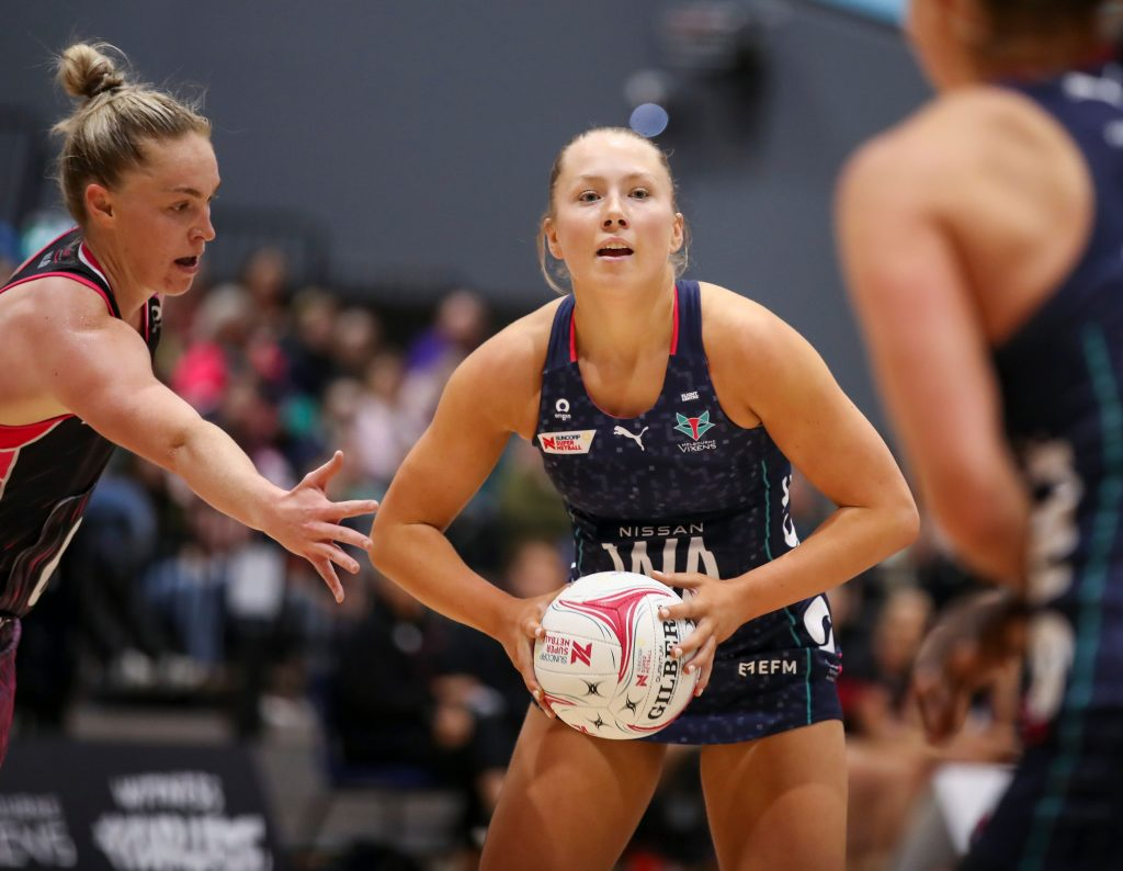 Hannah Mundy has signed a two year deal with the Melbourne Vixens. Image: Grant Treeby/Melbourne Vixens.