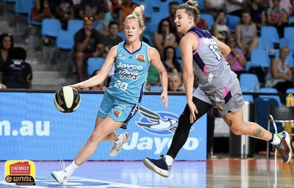 Taylah Giliam was a part of the Southside Flyers' championship WNBL team this year. Image: supplied
